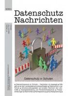 DANA 04/2011: Datenschutz in Schulen