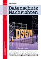 Ein Jahr DSGVO